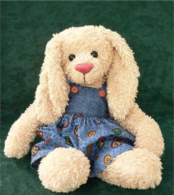 Teddy Bear Rabbit PDF Sewing Pattern - Rowena