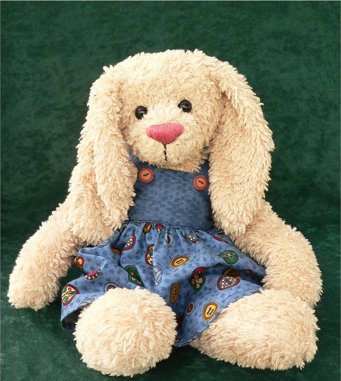 Teddy Bear Rabbit PDF Sewing Pattern Rowena
