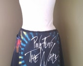 RESERVED Pink Floyd The Wall Tie Dye T Shirt Recycled Skirt XS XXL