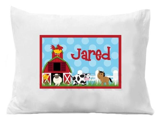 Farm Pillow Case , Personalized Pillow Case