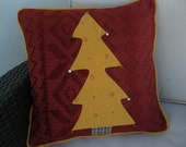 Christmas cushion cover for sofa & couch Christmas tree design