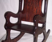 Rocking Chair with keepsake option
