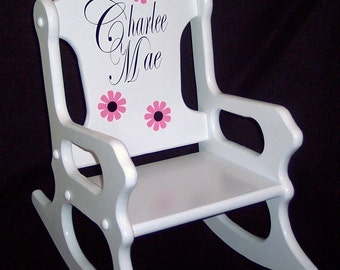 Childs Rocking Chair - personalized