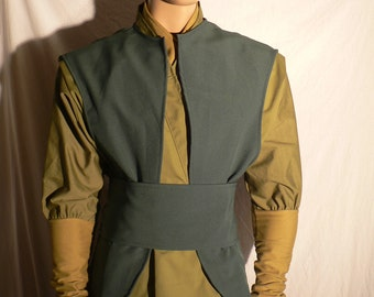 Jedi, Star Wars Corran Horn Costume, Jedi Costume, Cosplay, Custom Made