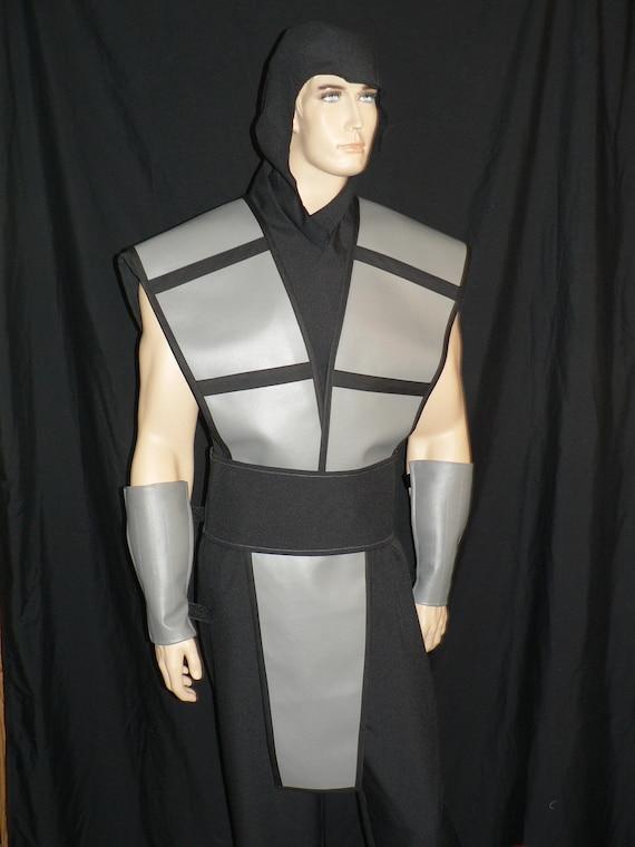 items similar to mortal kombat smoke costume custom made