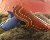 Tooled Leather Holster for a .45 Colt Automatic