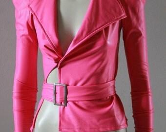Barbie Pink Jacket Kawaii Lady Gaga CHRISST