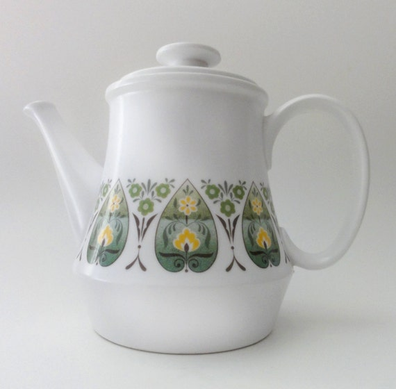 Vintage Mod  Coffee Tea Pot Noritake