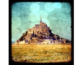 Mont Saint Michel, Normandy, Brittany, France, Unmatted 8x8 TTV-inspired Fine Art Print