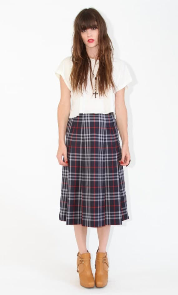 Reserved please do not purchase Vintage burberrys Plaid skirt