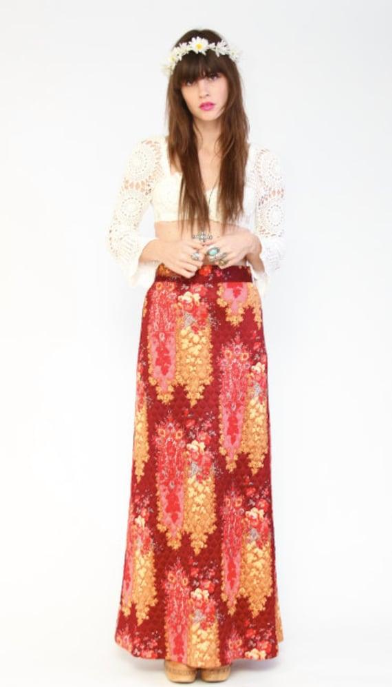 70s Maxi skirt