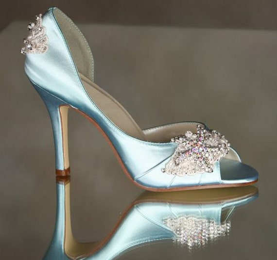 Wedding Shoes - Starfish Destination Wedding - Choose From Over 100 Colors - Hand Beaded Hand Sewn Wedding Shoes - Couture Arbie Goodfellow