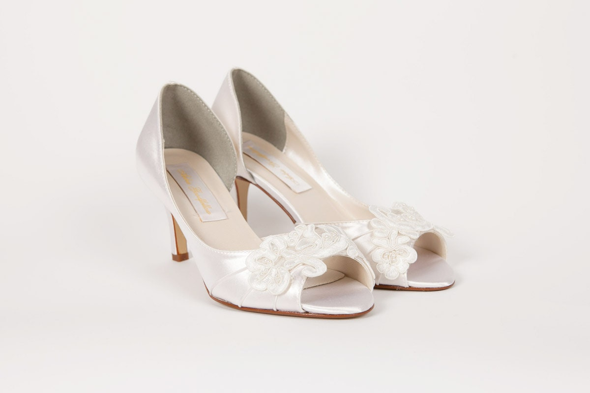 Wedding Shoes Lace Ivory Shoe Dyeable Choose From By Parisxox