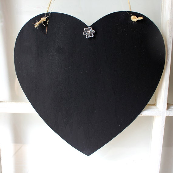 Large Chalkboard Heart Sign used for Wedding Photo Props and more