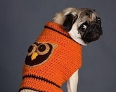 Owl Dog Sweater