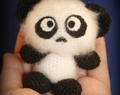 Panda - Amigurumi Crochet Plush Dolls ( finished doll )