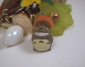 Super tiny My Neighbor Totoro With Giant Mushroom Charm Discontinued VERY Limited Stock Miyazaki