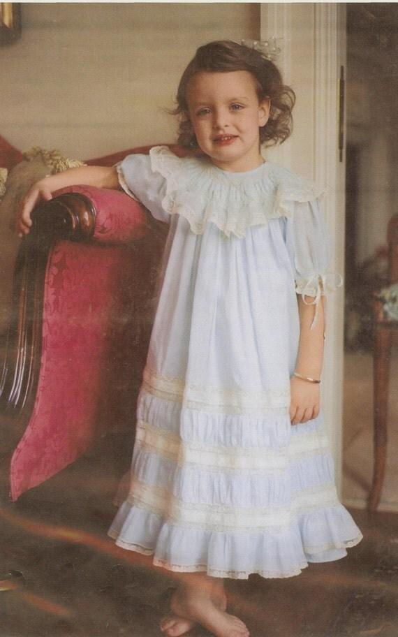 Nina Heirloom Smocked Bishop Portrait Dress With A Silk
