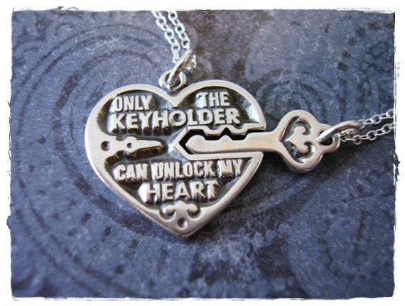 Key Heart Quotes Silver Heart Quote And Key