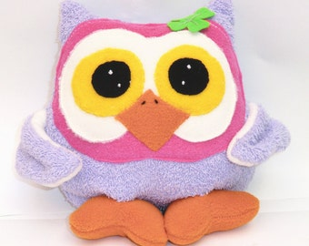 "Instant Digital Download-Pattern PDF DIY""MIster  OWL  "" sewing  free shipping"