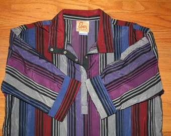 Vintage Western Jewel Toned Tunic