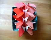 20% OFF W/Code HOLIDAY20 Origami Butterflies in Shades of Strawberry
