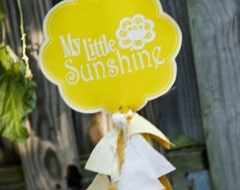 Yellow Sunshine Party PRINTABLE Welcome Sign (INSTANT DOWNLOAD) from Love The Day