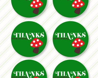 Woodland Party PRINTABLE Thank You Tags (INSTANT DOWNLOAD) from Love The Day