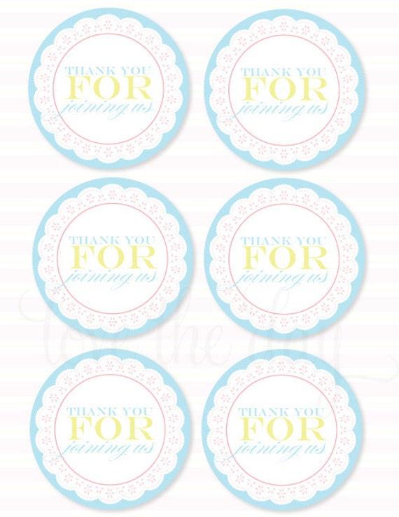 printable favor tags