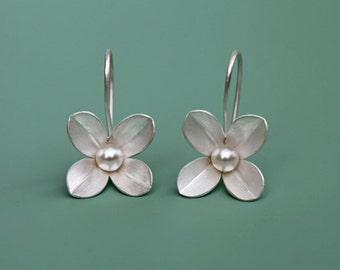 Earrings 'Four Leaf'