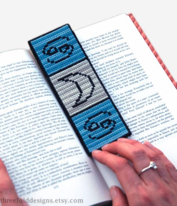Cancer Cross Stitch Kit Astrology Zodiac Bookmark