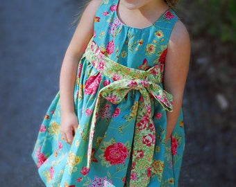 INSTANT DOWNLOAD- Bubble Dress (Sizes 3/6 months up to Size 6) PDF Sewing Pattern and Tutorial