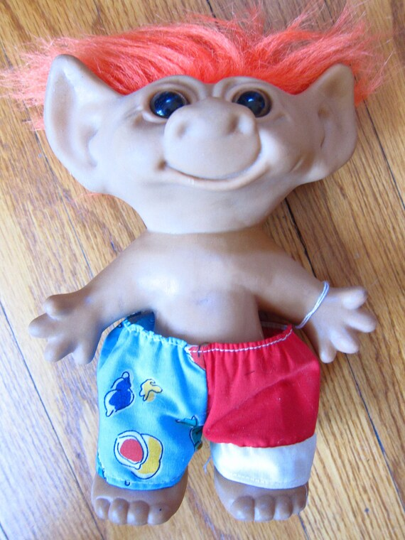 Large Troll Doll Surf's Up