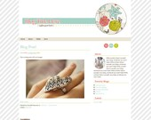 Simple & Colorful   ///   Pre-made Blogger Template