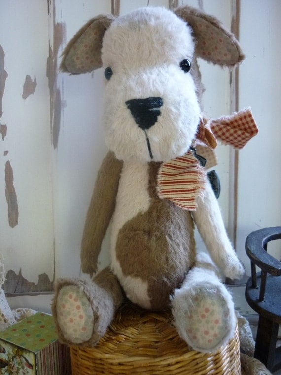 SPOT the Dog Pattern from Luvly Bears.  Don't sew?, thats no problem! I can make Spot for you.