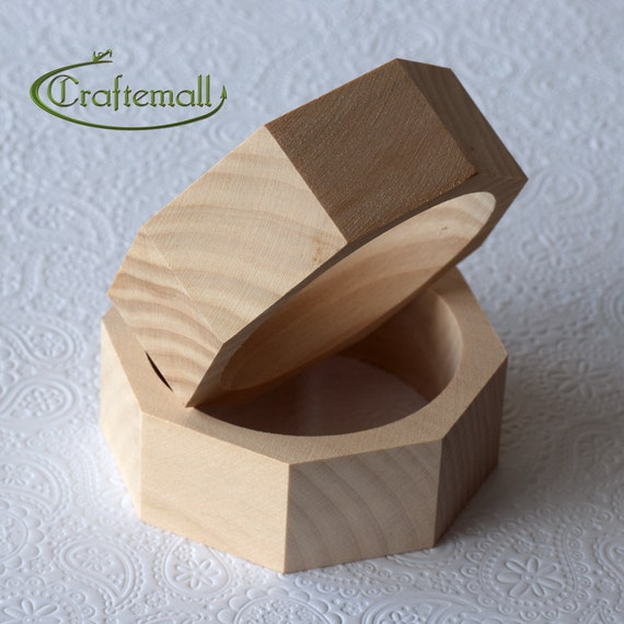 CLEARANCE: Wooden bangle - octagonal 30mm wide size M, unfinished wooden bracelet, wood bracelet, wood bangle, raw wood bangle