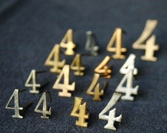4 x 4 anyways. Vintage military pin collection. Number four series.
