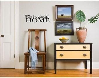 Wall Decals Wall Words Wall Stickers - There is No Place Like Home
