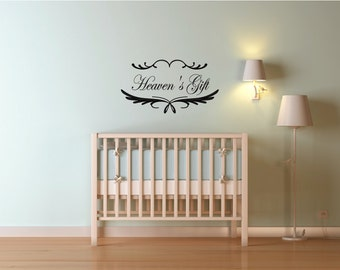 Nursery Wall Decals  - Heaven's Gift