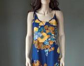Vintage GOLDWORM designer MAXI dress