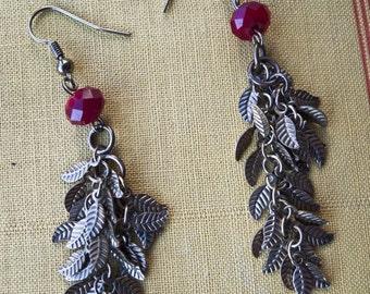 FALLEN LEAVES... dangling earrings