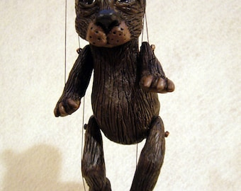 Brown Bear Marionette, Made-to-Order