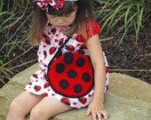 CROCHET PATTERN - Li'l Ladybug Purse - Handbag for little girls - Easy - PDF 501
