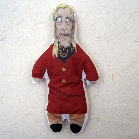 CLOSEOUT SALE! Ann COULTER PooDoo Doll - Political VOODoo Doll - Stuffed With Elephant Poo Paper