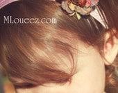Beautiful Flower on Lilac Headband
