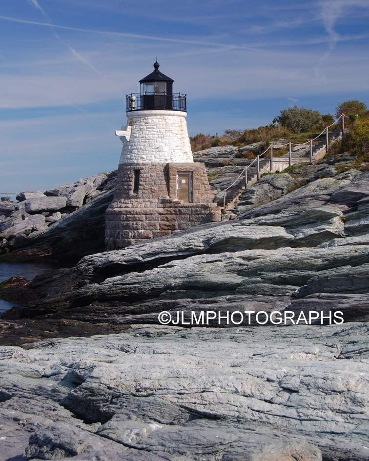 Castle Hill Lighthouse Newport Pictures Rhode Island 5 X 7