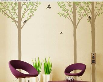 Summer Tree Wall Decals for Modern Baby Nursery - Children Wall Sticker - 0047