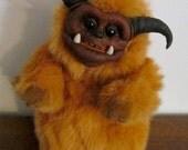 OOAK Custom Plush Goblin