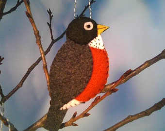 Spring is Here Robin Ornament