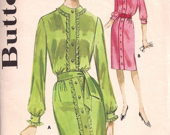 Butterick 2402 - Junior Shirtdress